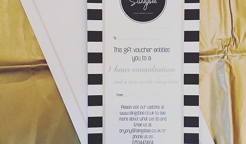 Gift Voucher - 1 hour consult and 2 week hire