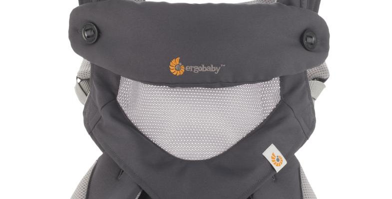Ergobaby 360, Cool Air Mesh - Carbon Grey