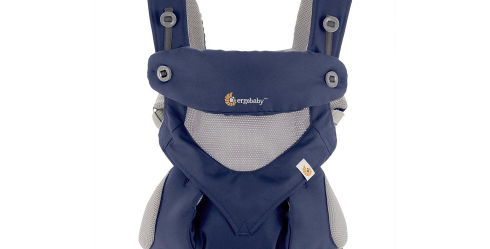 Ergobaby 360, Cool Air Mesh - French Blue