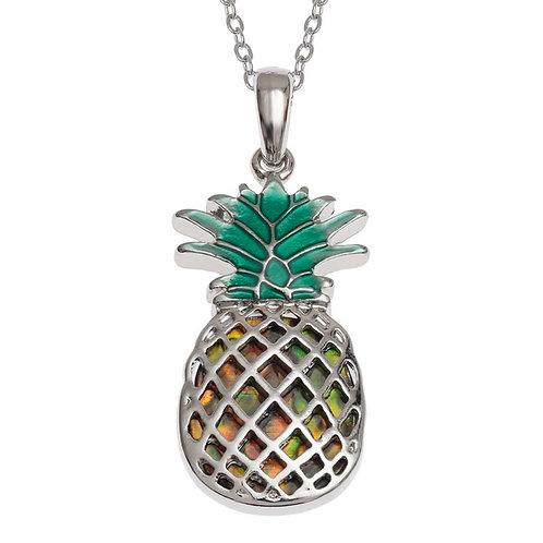 Pineapple pendant & chain