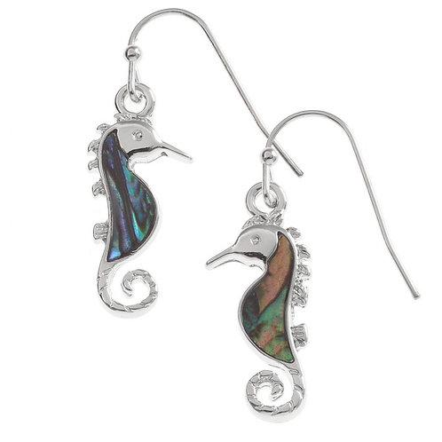 Seahorse hook earrings