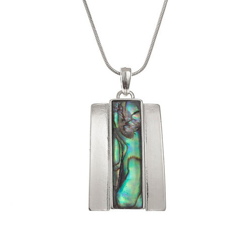 Art Deco style pendant & chain