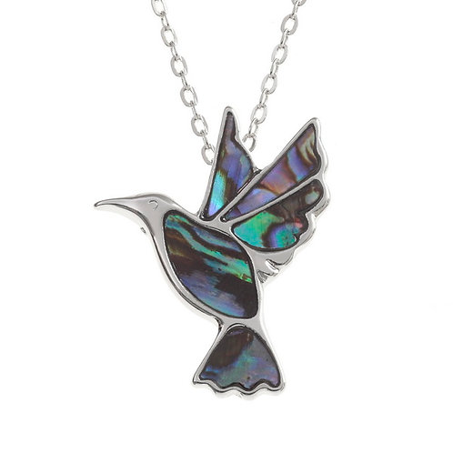Tide Jewellery Hummingbird pendant & chain