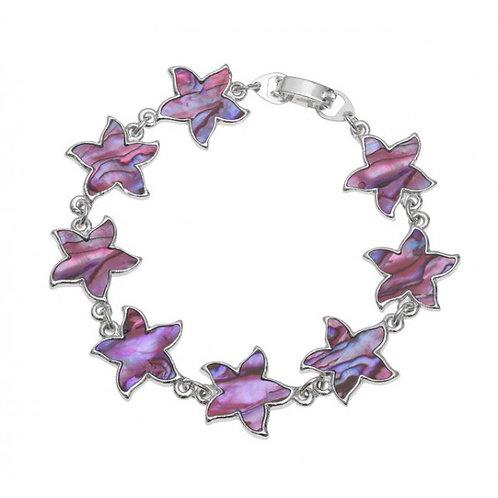 Flower bracelet ~ pink