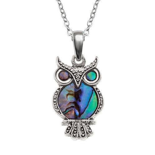 Owl pendant & chain