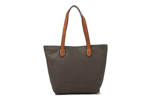 Long & Son Shoulder tote bag ~ dark grey