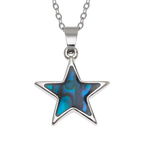Star pendant & chain