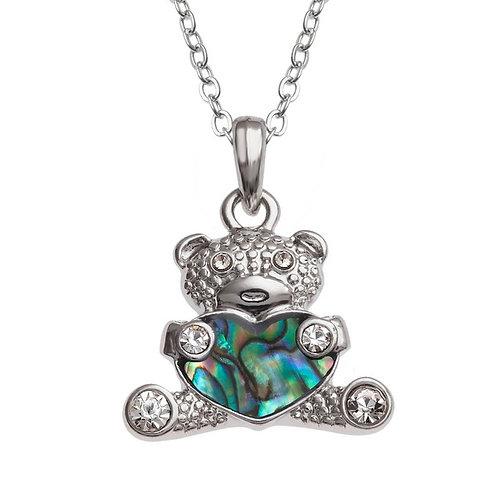 Teddy Bear pendant & chain
