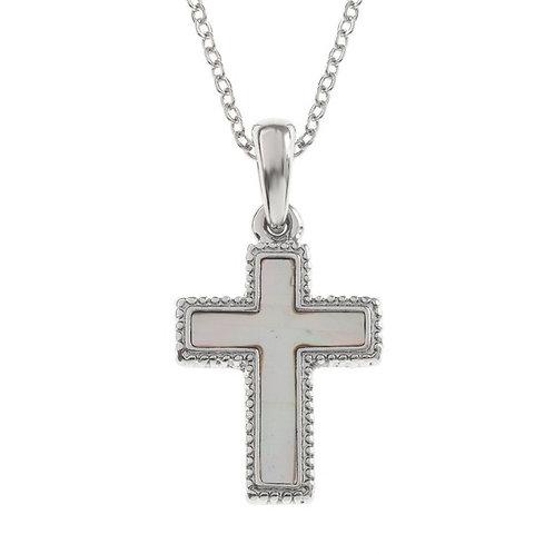 Cross pendant & chain