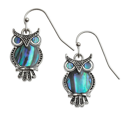 Tide Jewellery Owl earrings