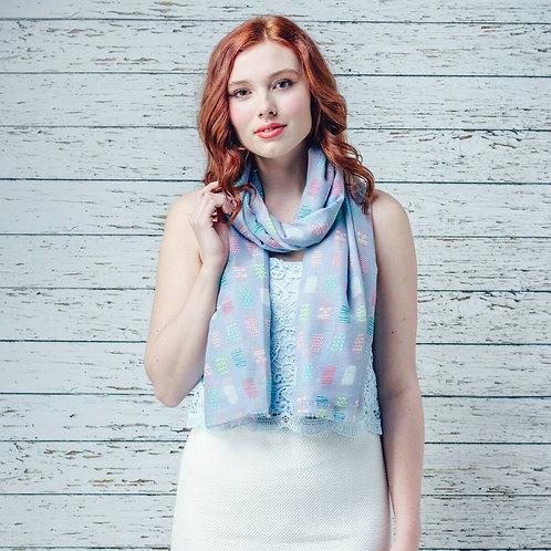 Lolly print scarf