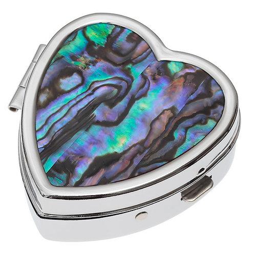 Heart shaped pill pot