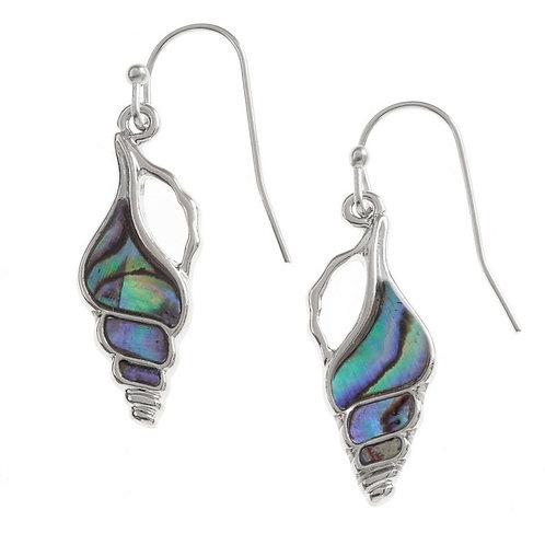 Tide Jewellery seashell hook earrings