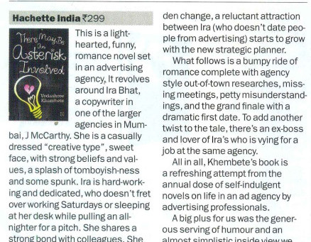 """""""A refreshing attempt… an enjoyable read"""" – TimeOut Delhi"""