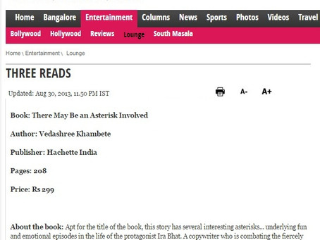 """""""A fun read and a fitting tribute to the ad world"""" – Bangalore Mirror"""