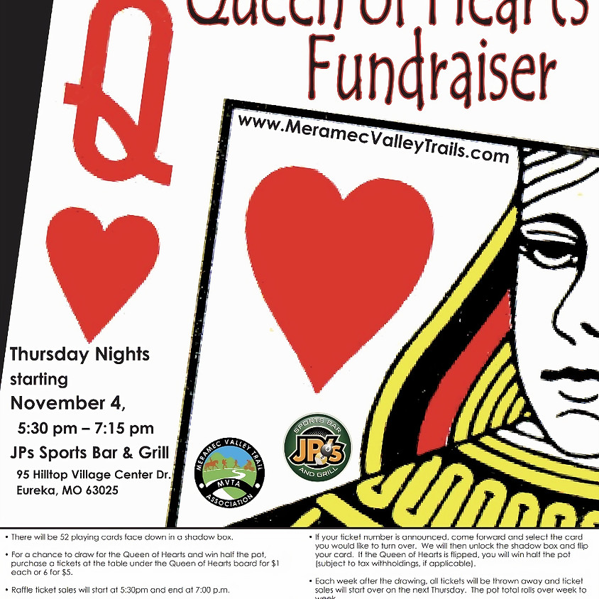 MVTA Queen of Hearts Fundraiser