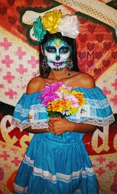 Sugar Skull by Sparkle Faerie
