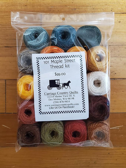 101 Maple Street Thread Kit