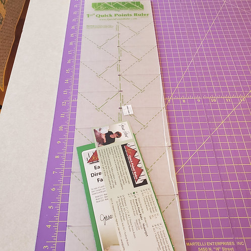 """1.5"""" Quick Points Ruler"""