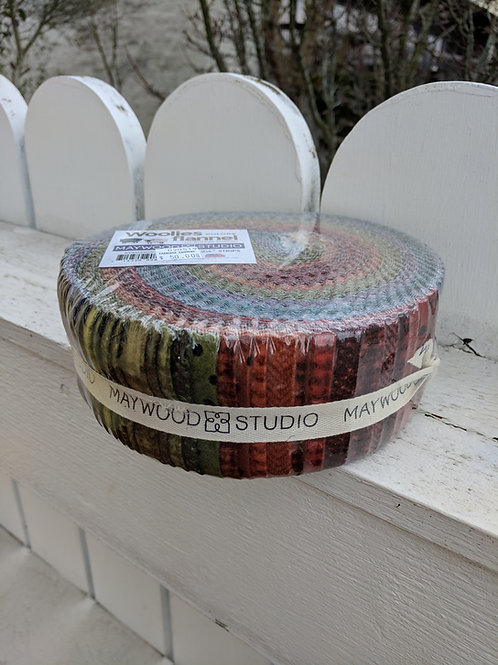 Maywood Studio Flannel Jelly Roll - Colors