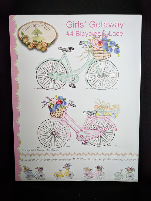 Girls' Getaway #4 Bicycles and Lace