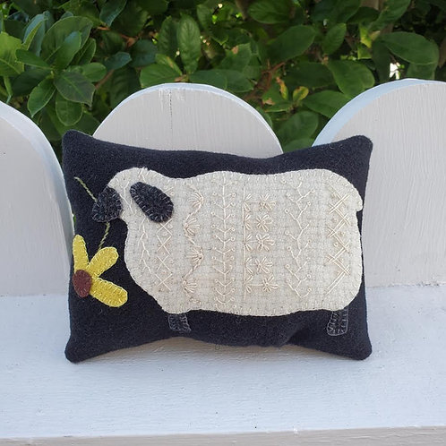 Crazy Sheep Pillow