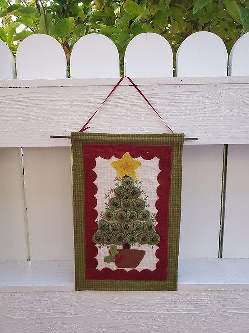 Christmas Rosette Tree