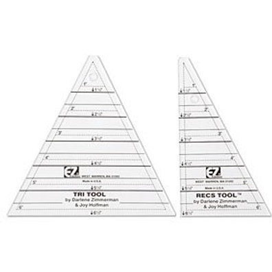 Tri Recs Triangle Ruler