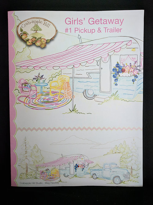 Girls' Getaway #1 Pickup & Trailer