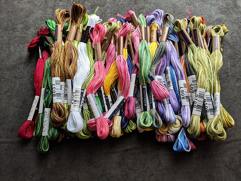 Gardener's Alphabet Thread Kit