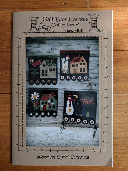 Salt Box Houses #1