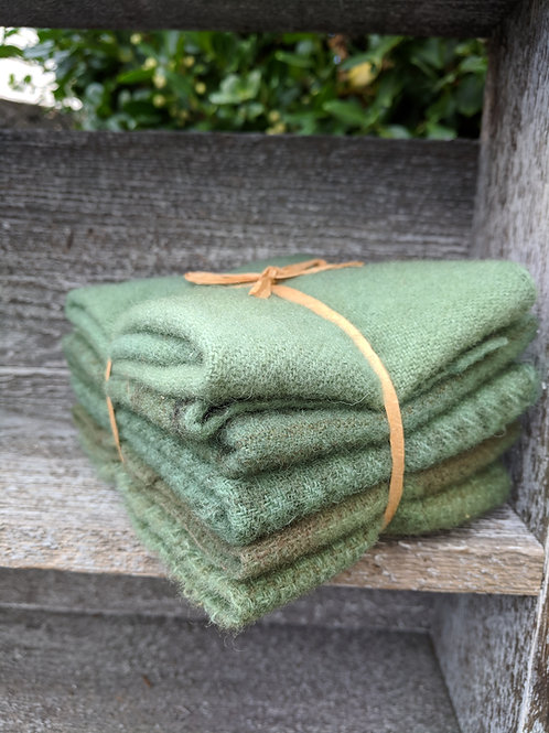 Sage Leaf Wool Bundle