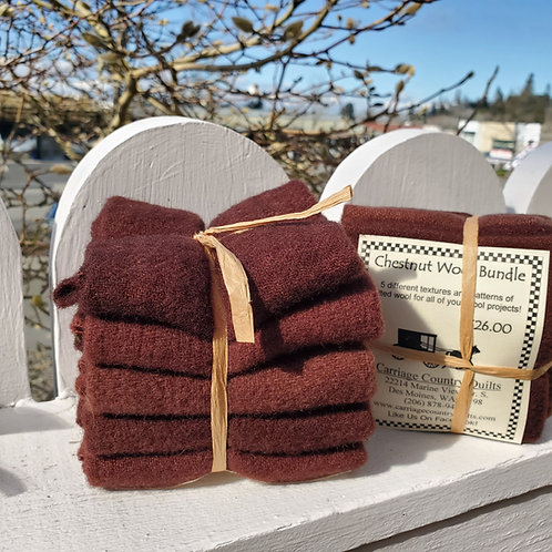 Chestnut Wool Bundle