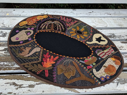 Fall Crazy Table Mat