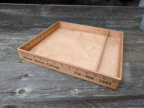 Ruler Box - 13 1/2'' x 12 1/2''