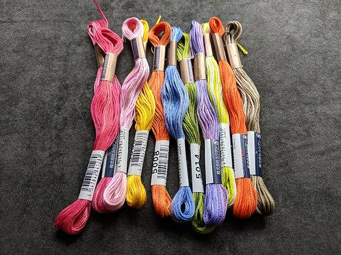 Handmade Sampler Thread Kit