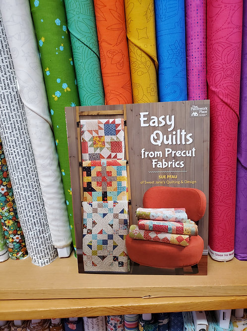 Easy Quilts from Pre-cut Fabric