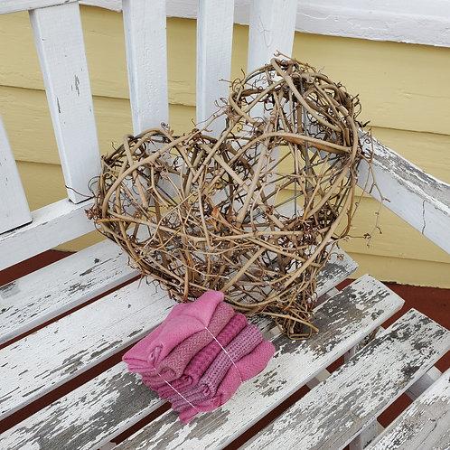 Valentine Blush Wool Bundle