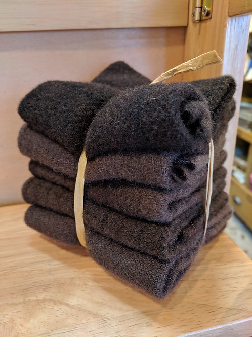 Teddy Bear Brown Wool Bundle