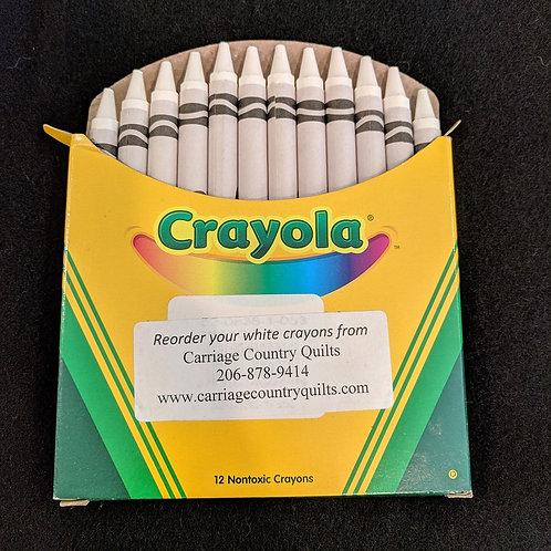 White Crayons
