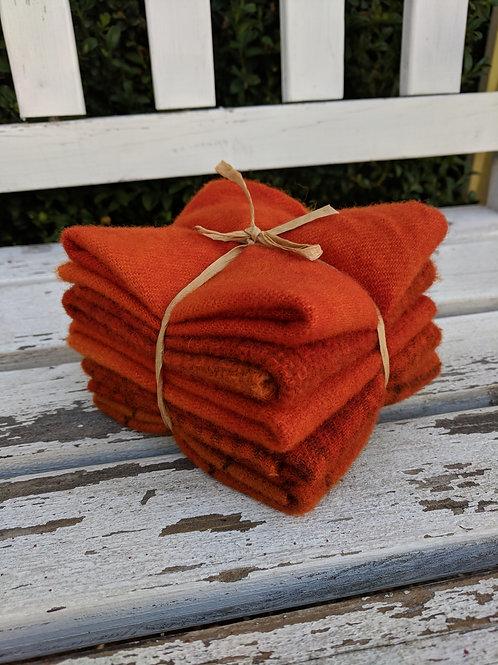 Saffron Spice Wool Bundle