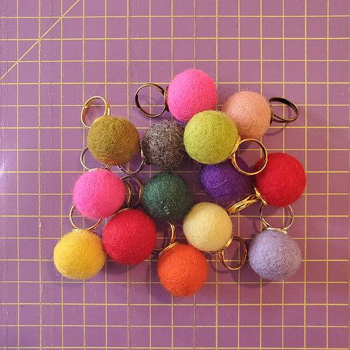 Wool Pincushion Ring