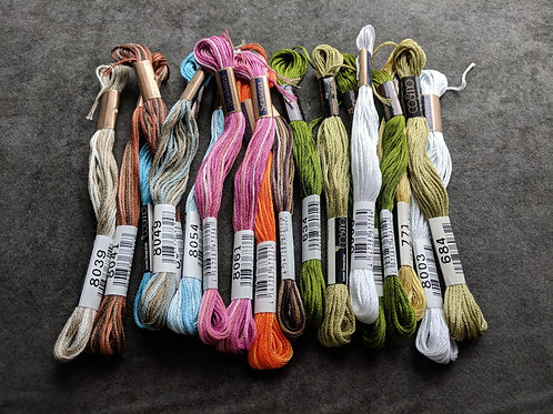 Lace Cabins Thread Kit