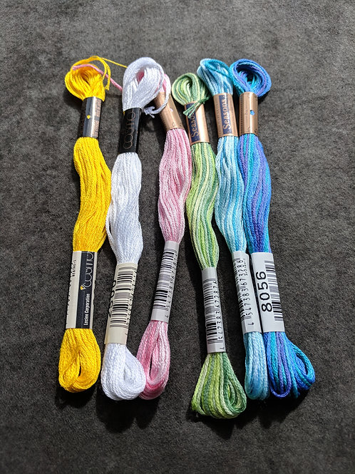 Stitching Makes Me Happy Thread Kit