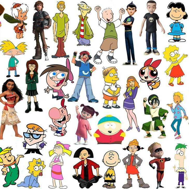 Name The Kids TV Characters