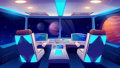 spaceship-cockpit-interior-space-planets