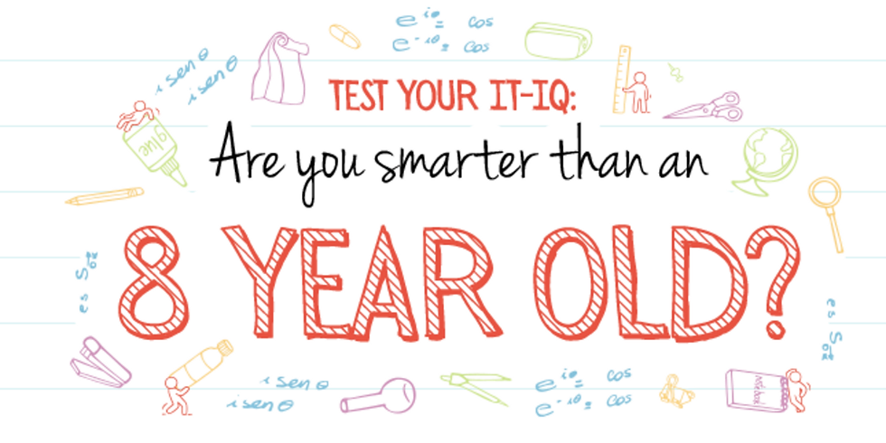 Are you smarter than an 8 year old quiz?