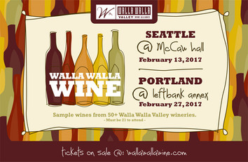 February 27: Walla Walla Wine event in Portland