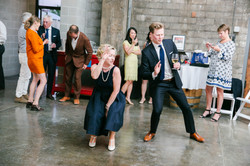 Dance in the gallery!