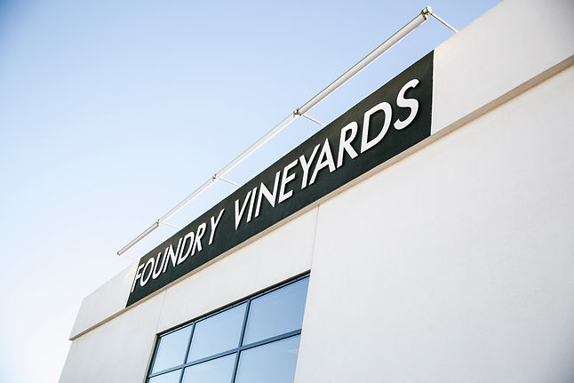 Foundry Vineyards store front in Walla Walla,WA